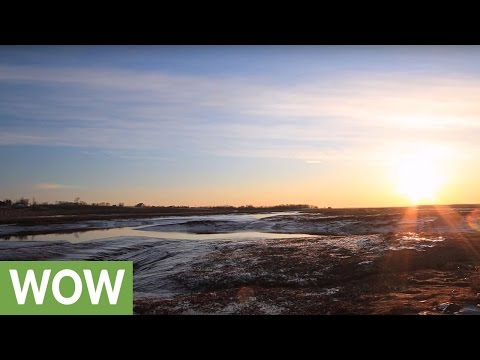 5-hour Time Lapse Captures Incredible Bay Of Fundy Tide Change