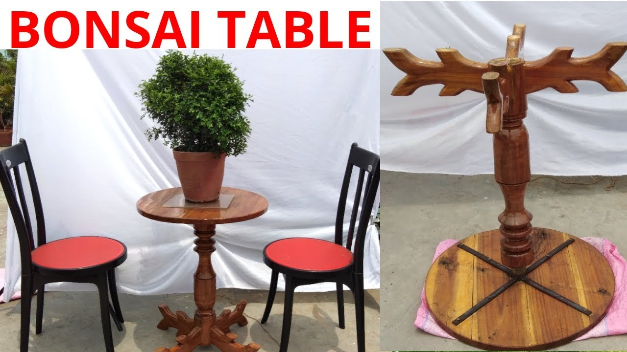 Revolving Bonsai Table Youtube