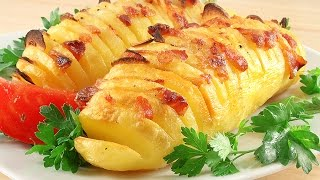 Baked Potato With Bacon And Garlic. Yummy!!!