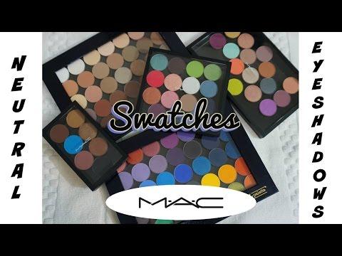swatch-fest-💕-mac-neutral-eyeshadows-(all-shades)-💕-whites,-ivories,-beiges,-nudes,-browns,-blacks