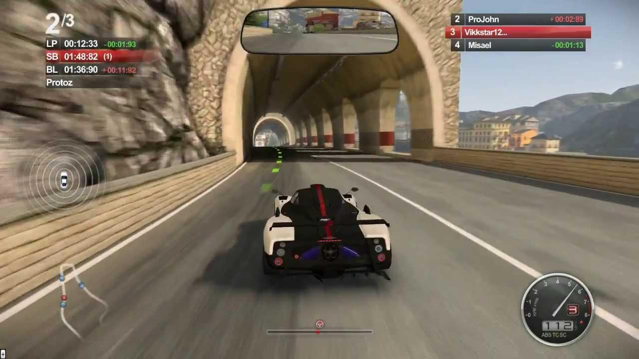 acr gameplay #3 - auto club revolution - pagani zonda cinque - youtube