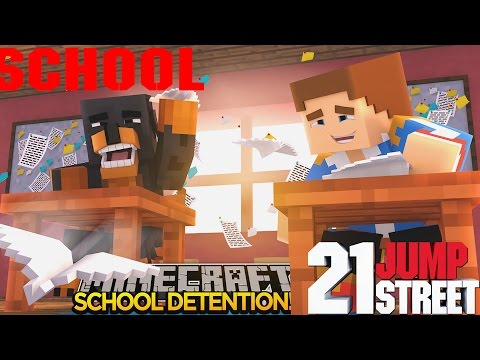 Minecraft - Donut the Dog Adventures -DETENTION IN SCHOOL!!!!