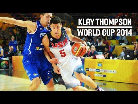 Klay Thompson was killing it at the FIBA Basketball World Cup 2014!