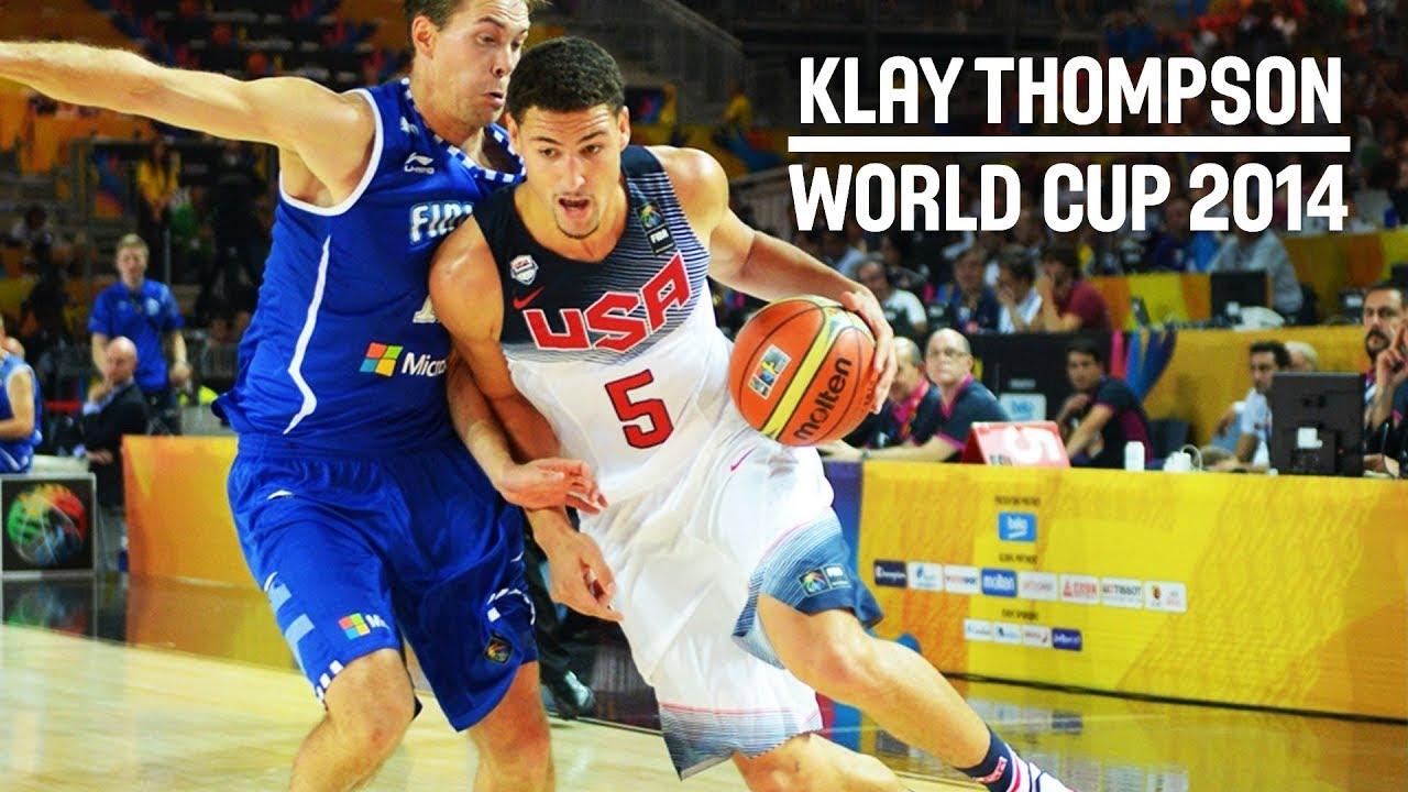 【影片】佛法無邊!Klay Thompson 2014年世界盃精彩表演集錦