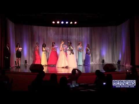 Miss Bermuda Pageant At Fairmont Southampton, June 23 2013