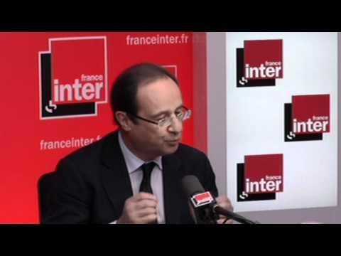 François Hollande, l'interview par Pascale Clark - Présidentielle 2012