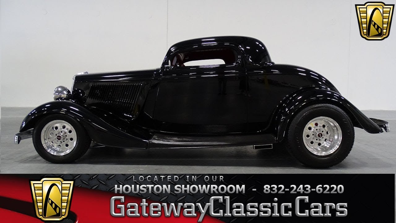 1934 Ford 3 window coupe Gateway Classic Cars #909 Houston ...