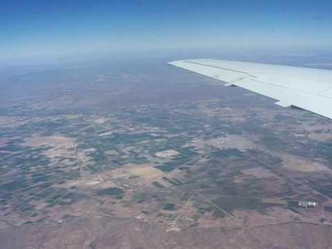 Flug über Mexico-City 1