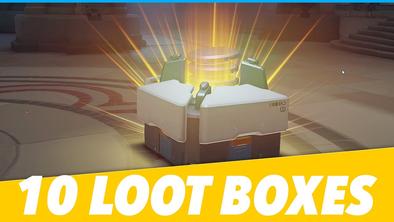 Overwatch Loot Box Opening