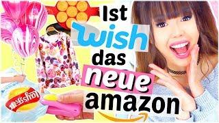 Zum ersten Mal bei Wish bestellt! 📦 Besser als Amazon?? 🤔 | ViktoriaSarina