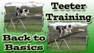 Teeter Training - Clicker Dog Agility Training