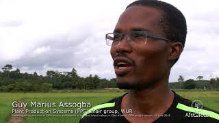 Guy Marius Assogba, PPS chair group, WUR at CIPA Project Launch