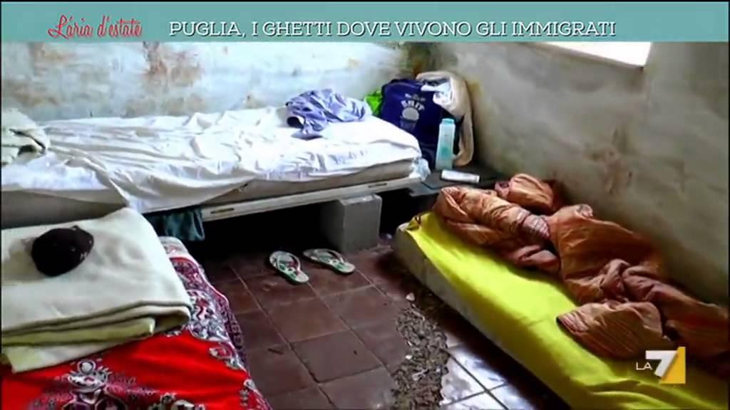 Puglia i ghetti dove vivono gli immigrati youtube - Cimici dove vivono ...