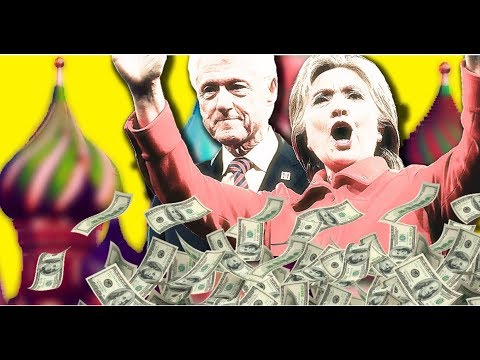 CLINTON CONNECTION TO RUSSIA WITCH HUNT JUST GOT $25 MIL BIGGER!
