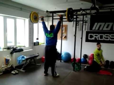 David Wurst Push Press 100kg