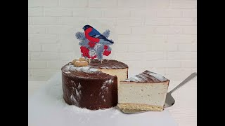 вкусный и лёгкий Торт Суфле ПТИЧЬЕ МОЛОКО на ЖЕЛАТИНЕ всегда получается из доступных продуктов