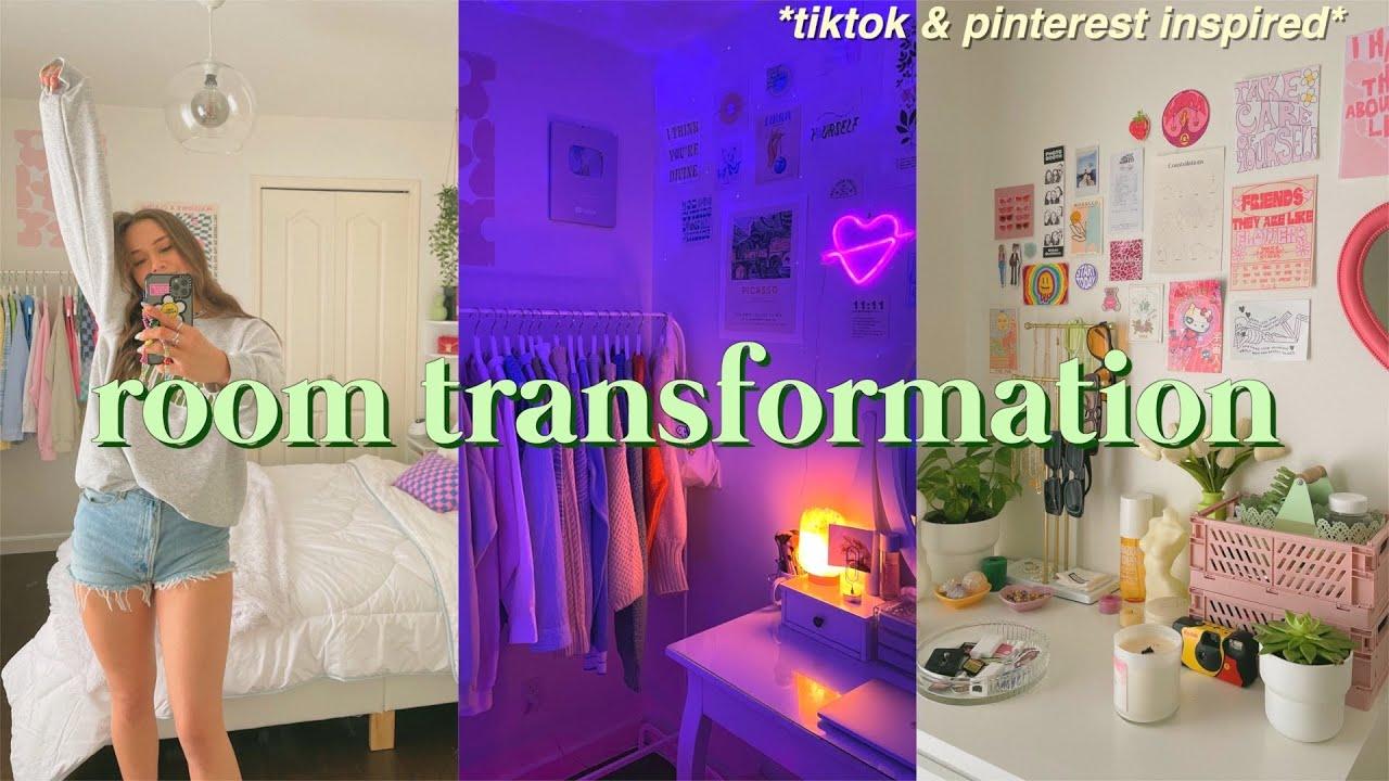 Download EXTREME ROOM TRANSFORMATION + TOUR 2021 !! *aesthetic/tiktok/pinterest inspired*