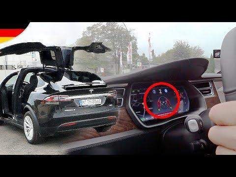 Wie genial ist TESLA Autopilot im Model X?!