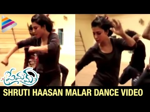 Shruti Haasan Malar Dance Video | Premam |...
