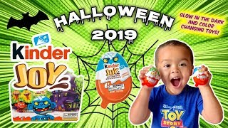 HALLOWEEN 2019 KINDER JOY SURPRISE TOYS