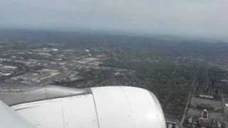 approach and landing at jfk airport