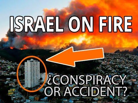 BREAKING NEW : ISRAEL ON FIRE -  RAW -  2016