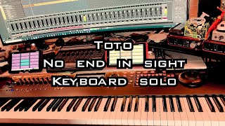 Toto - No End in Sight keyboard solo 4K 24fps