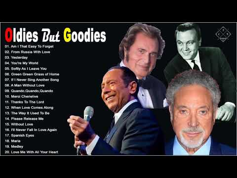 Engelbert Humperdinck, Matt Monro, TomJone Paul Anka, The Cascades - Oldies But Goodies 50s 60s 70s