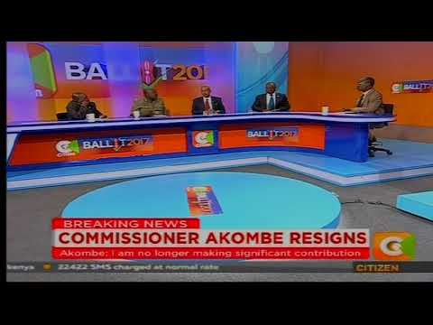 Cheche: Commissioner Akombe Resigns[part 1]