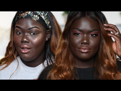 ? FIXING makeup MISTAKES I've made in the PAST - Dark Skin  || Nyma Tang thumbnail