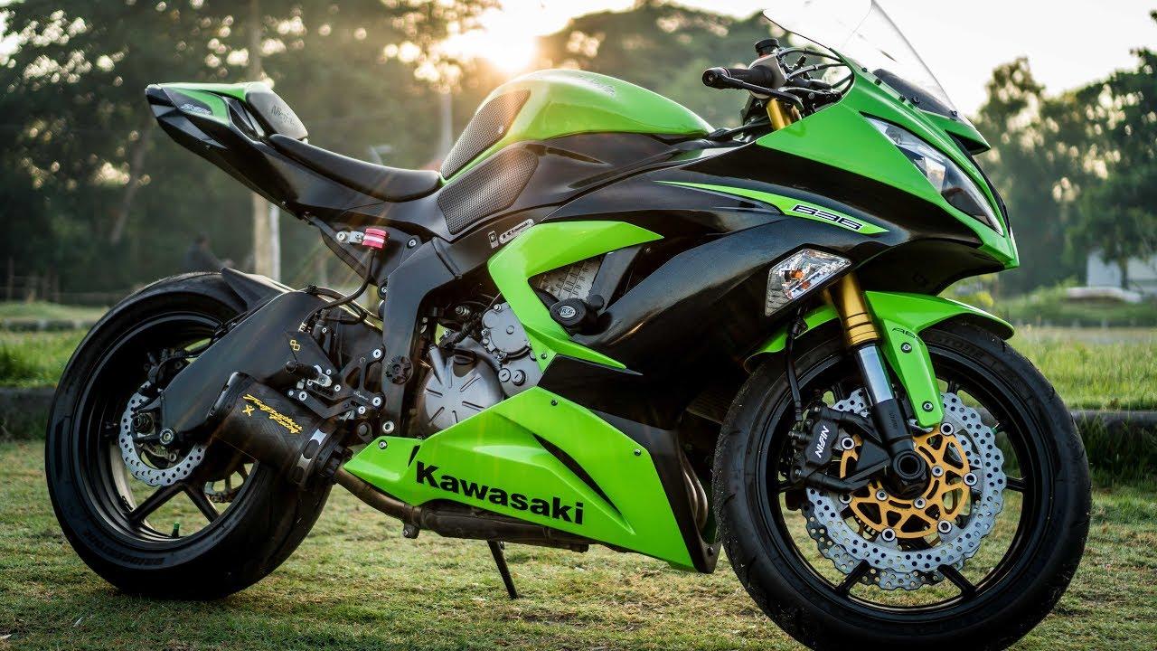 Kawasaki KQR Saddlebags: Assembly and Installation (Ninja ... |Kawasaki