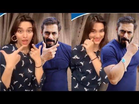 Saiee Manjrekar Joins Salman Khan Latest Swag Dance For Pepsi India