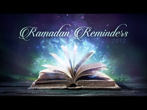 Ramadan Reminder (Day 18) - Sweetness in Salah