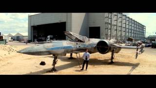 Star Wars Episode VII X-Wing at Force For Change - please support Omaze J.J. Abrams