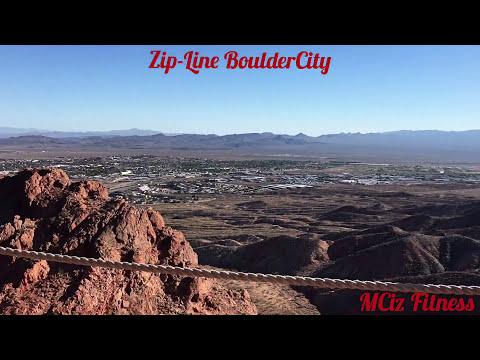 Zipline Boulder City NV Bootleg Canyon Flightline