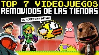 7 Videojuegos Que Fueron Removidos De Las Tiendas (y la Razón REAL)