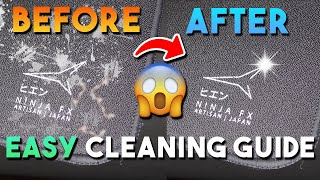 How To Clean Aฑ Artisan Mousepad *EASIEST METHOD* (works on all cloth mousepads!)