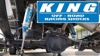 Rebuilding A Wrecked 2016 Silverado Z71 Single Cab Part 4 - Rear King Shocks Install