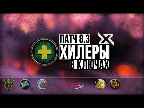 ТОП-6 ХИЛЕРОВ В ПАТЧЕ 8.3 в мифик+