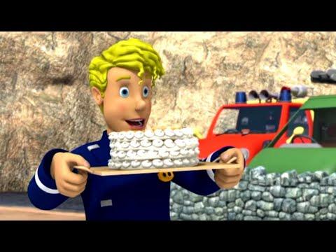 Торт после большого спасения! | Пожарный Сэм | Новые серии 🔥 Мультфильмы | WildBrain