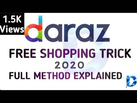 DARAZ Free Shopping 2020 Offer | Multiple Free Vouchers Trick | Full Method Explained | FirstOnYT