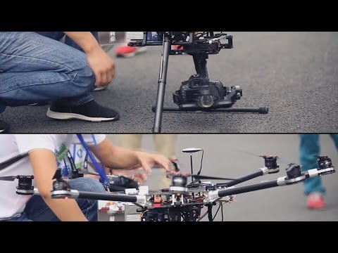 DJI Spreadwings S1000 Octocopter That HPI Guy