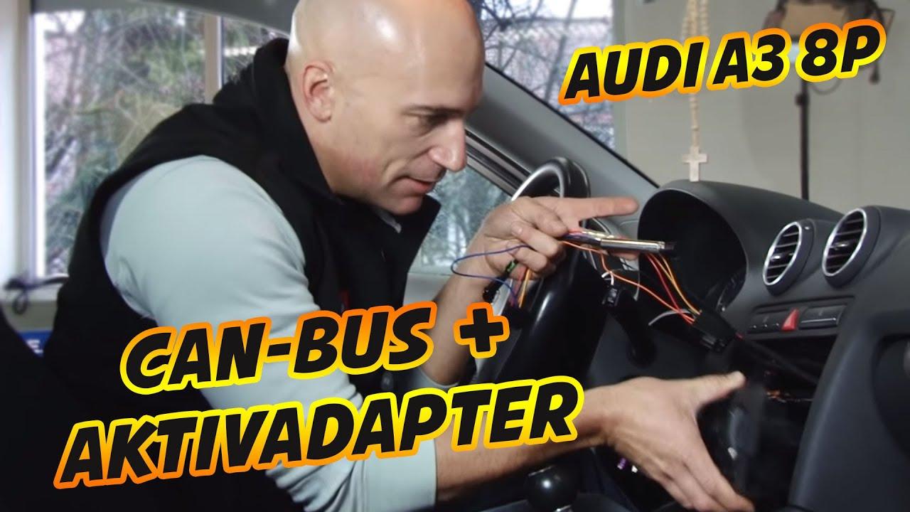 Audi A3 8p Can Bus Aktivadapter Installieren Tutorial Ars24 Vw Decoder Wiring Diagram Ars24com