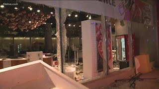 College Football Hall Of Fame Heavily Damaged By Vandals, Suspected Looters