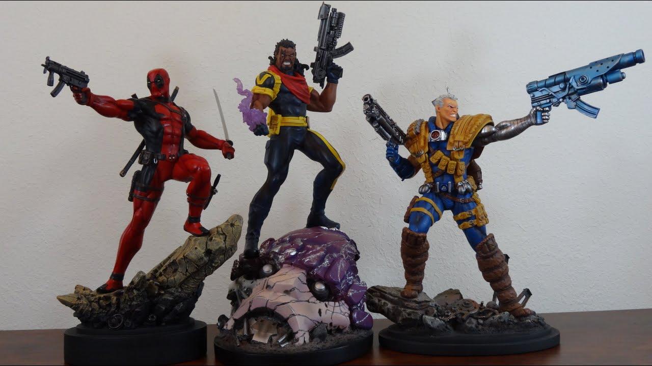 X Men Bishop Cable 90's Marvel Renegades:...