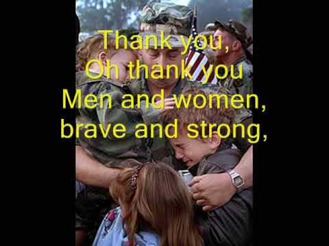 thank you soldiers veterans daymemorial day song