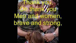 Thank You Soldiers - Veteran