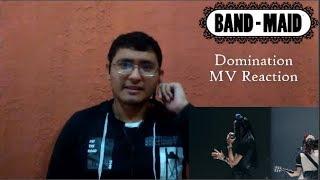 Band Maid - Domination (MV Reaction)