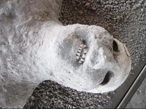 【閲覧注意】衝撃の大噴火で逃げ遅れた古代ローマの人々 幻の都市ポンペイを襲った悲劇
