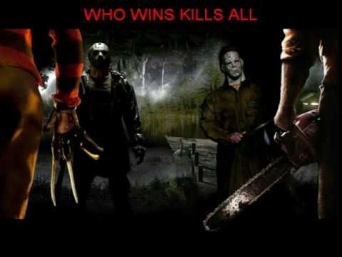 Freddy Krueger AND Thomas Hewitt VS Jason Woorhees AND Michael Myers